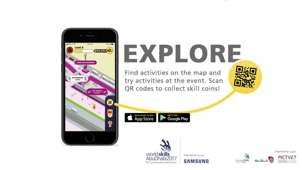 Explore - find activities on the map and try activities at the event.